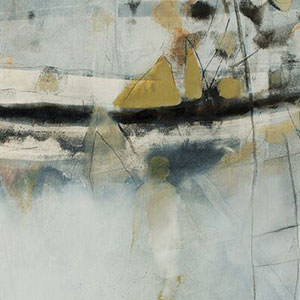 'Elsewhere' 2014:  mixed media on canvas, 60 X 80 cm